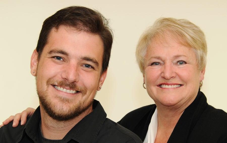 Dr  Bill Rolland & Dr  Lois Abel