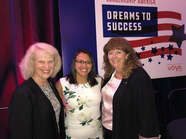 Susan Quinlan, Karla Robles, Kathy Carroll